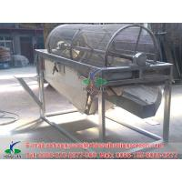 Quality sieving cooling fish meal used rotary screen filter design wholesale