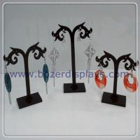 Free Shipping Wholesale Earring Acrylic Jewelry Display Stand Holder 12set lot for sale