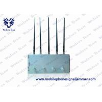 Quality Compact Design Cell Phone Jammer Kit , Mobile Phone Blocking Device GSM CDMA DCS 3G wholesale
