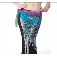Quality Leopard Print Chiffon Hip Scarves Belly Dancing Performance Costumes From Egypt wholesale