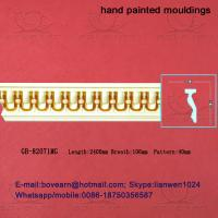 Quality Hand Painted PU Cornices Panel Moulding wholesale