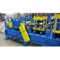 Quality 20 KW Steel Frame C Purlin Roll Forming Machine For C / Z / U Shape Purlins wholesale