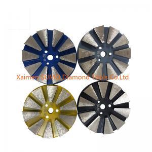 Quality Velcro Backed Diamond Grinding Block For Stonekor Concrete Grinder wholesale