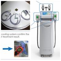 China Cryolipolysis machine for body slimming fat freezing system with cavitation and RF on sale