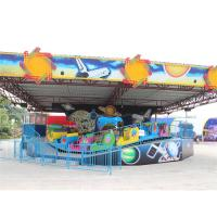 Quality Cool Amusement Park Thrill Rides , Music Express Ride With Slope Wave Track wholesale