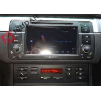 Quality Split Screen Mode Bmw E46 Sat Nav , Android Auto Car Radio With Screen Mirroring Function wholesale