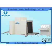 Quality Dual View X Ray Inspection Machine System Large Airport Baggage X ray Machines wholesale