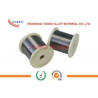 Quality 650c FeCrAl Alloy  Wire Rod In Coil 0.02-10mm Bright Alloy 750 Stablohm wholesale