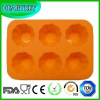 Quality Silicone Muffin Pan Tray Jelly Cupcake Candy Mold Chocolate Mold 6 Flowers wholesale
