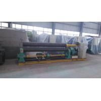 Quality 22 KW 3 Rolls Mechanical Plate Rolling Machine 2500mm Width ISO wholesale