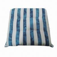 Quality Printed stripe chair pad, decorative and comfortable wholesale
