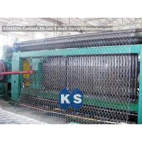 Custom Automatic Gabion Machines 80X100mm Gabion Production Line