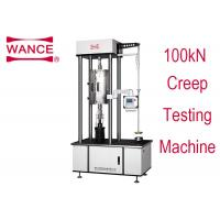 Quality 100KN Creep Tensile Testing Machine With Touch Screen Operation Lever Type wholesale