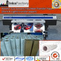 China Roland Eco Solvent Ink Heat Transfer Paper Dark and Light on sale
