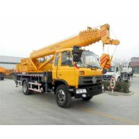 Quality DFAC Mobile Hydraulic Vehicle Mounted Crane With 16 - 20 Ton Lifting Capacity wholesale