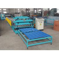 Quality Pressed Steel Roof Tile Roll Forming Line For PPGI / GI / PPGL / GL Coils wholesale