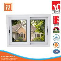 Quality Powder Coated Double Glass Aluminum Interior Sliding Glass Windows In China wholesale