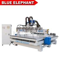 Quality ELECNC-1821 Multi Spindles 4 Axis Woodworking Machinery with Rotary Devices wholesale