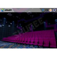 Quality Amazing Cinema System Movie Theatre Seats With ARC Screen Play 3D Movie wholesale