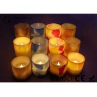 Quality Remote Control Flameless Candles Led , Flameless Scented Candles No Dripping wholesale
