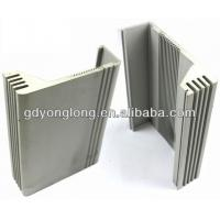 China OEM Aluminium Extrusion Profile For Electrical Heat Sink Aluminium Louver Profile on sale