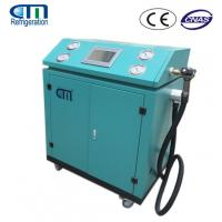 China R134A / R22 / R410A Refrigerant Charging Machine , PLC Control System Gas Recovery Unit on sale