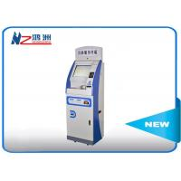 China 43 inch Scren self check in machine 1920*1080 Resolution Ratio with ID card reader on sale