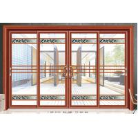 Quality Large Outdoor Residential Glass Sliding Doors Aluminium Frame 5mm+6A+5mm wholesale