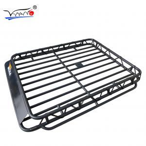 Quality Toyota Prado Roof Rack Cage Basket, E009 32mm Iron Tube Cargo Carrier Basket wholesale
