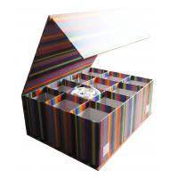 decorative paper boxes Alef elegant decorative themed nesting gift boxes -3 boxes- nesting boxes beautifully themed and decorated - perfect for gifts or simple decoration around the house.