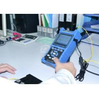 Buy cheap Shock Proof / Dust Proof USB / RS-232 Fiber Optic Test Equipment Palm OTDR Tester from wholesalers