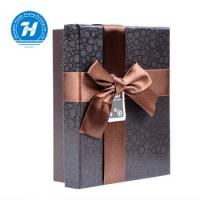 China Recyclable Chocolate Paper Box With Bow - Knot Kraft Paper Duplex Board on sale
