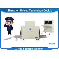 Quality High Resolution X Ray Luggage Scanner 200 Kg Conveyor Max Load SF8065 wholesale