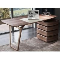 Cheap American Dark Walnut Wood Furniture Nordic design of Writing Desk Reading table for sale