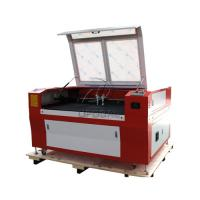 Cheap Low Cost  Co2 Laser Engraving Cutting Machine for Stainless Steel /Acrylic/ Leather/ Wood with Double Heads for sale