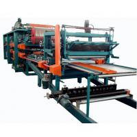 Quality Double Belt PU Sandwich Panel Making Machine Automatic For Roof Wall Panel wholesale