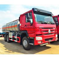 Quality Light Diesel Oil Tanker Truck 20 - 25 CBM 5000 - 6000 Gallons Volume wholesale