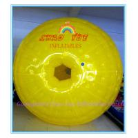 Quality Entertainment backyard Inflatable zorbing ball , Outdoor Inflate Roller Ball for Kids wholesale