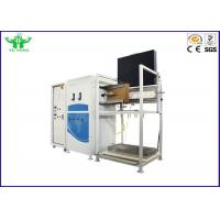 Quality Rail And Marine Vertical Flammability Tester 228kg For Flame Imo Spread wholesale