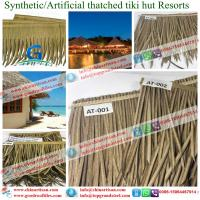 Cheap african synthetic thatch artificial roof materials for Synthetic roofing materials