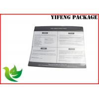 Buy cheap SGS Certificate Clear Window Zip Lock Plastic Bags For Clothes / Garment Packaging product