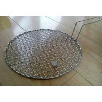 Quality Stainless Steel Crimped Wire Mesh Barbecue Grill Net With Food Grade Stainless Steel Wire wholesale