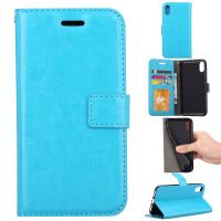 Quality Apple Iphone Crazy Horse Leather Wallet Case Three Id Card Slot For Iphonex Iphone 10 wholesale