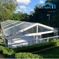 China Modular Outdoor Wedding Tent / White Fabric Wedding Canopy 3m Height on sale