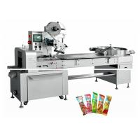 China Lollipop Candy Packaging Machine , Food Sealing Packaging Machine on sale