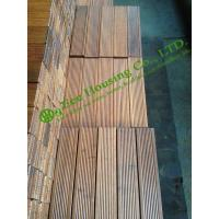 Cheap indoor outdoor bamboo tile manufactuer in china for Garden decking for sale