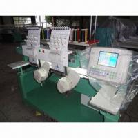 China Cap/Flat/T-shirts/Garments Making Embroidery Machine with 1000rpm Speed on sale