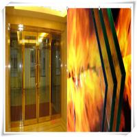 Quality 6-19mm Fire rated door glass , firep roof laminated float glass panels wholesale