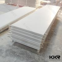 China 12mm pure white acrylic solid surface / Artificial marble solid surface on sale