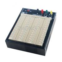 Quality ABS Plastic Brown Powered Breadboard 50000 Times Contact Life wholesale